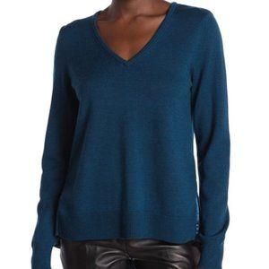 Elie Tahari Deangelo Wool Silk Sweater